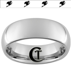 8mm Dome Tungsten Carbide Multiple Fairy Tale Symbols Design Ring.