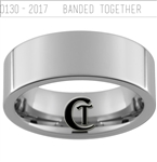 Build Your Own Custom 8mm Pipe Tungsten Carbide Duck Band Design