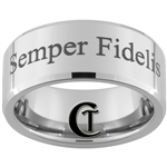 10mm Beveled Tungsten Carbide Marines Semper Fidelis Design.