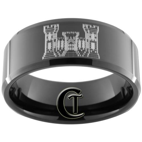 Black Tungsten Weding Rings 014 - Black Tungsten Weding Rings
