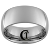 10mm Tungsten Carbide Dome Polish Ring