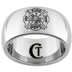 10mm Dome Tungsten Carbide Fire Department Design
