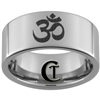 10mm Pipe Tungsten Carbide Polished OM Designed Ring
