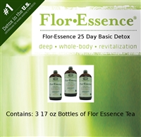 Flor-Essence Tea 25 Day Basic Detox