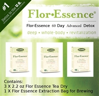 Flor-Essence Dry Tea 60 Day Advanced Detox