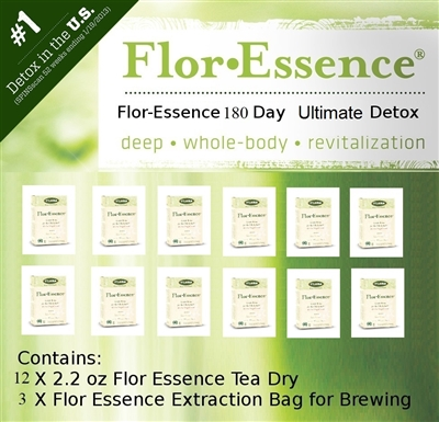Flor-Essence Dry Tea 180 Day Ultimate Detox