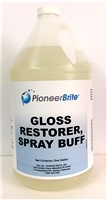 PIONEER BRITE GLOSS RESTORER SPRAY BUFF