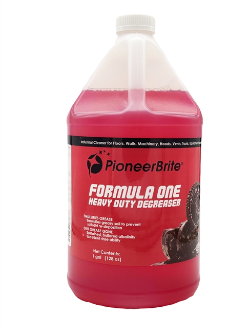 PIONEER BRITE FORMULA ONE DEGREASER CONCENTRATE