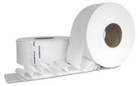 JUMBO ROLL TISSUE 2 PLY, 3.3 CORE, 12\1000' CASE PACK