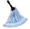 STANDARD, BLUE STRIPE FINISH MOP, 1.25 HEADBAND, Large