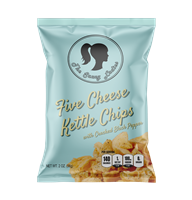 Five Cheese Kettle Chips 2 oz 6 Pack