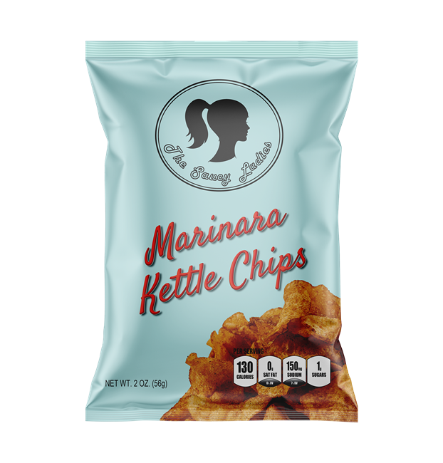 Marinara Kettle Chips 2 oz 30 Pack