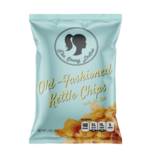 Old-Fashioned Kettle Chips 2 oz 6 Pack