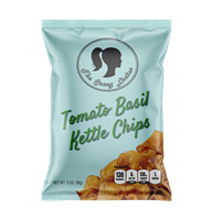 Tomato Basil Kettle Chips 2 oz 6 Pack
