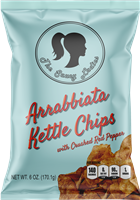 Arrabbiata Kettle Chips 6 oz 12 pack