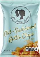 Old-Fashioned Kettle Chips 6 oz 12 Pack