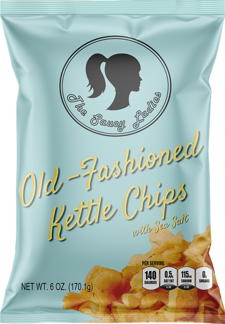 Old-Fashioned Kettle Chips 6 oz 3 Pack