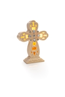 Cross Light Up Figurine