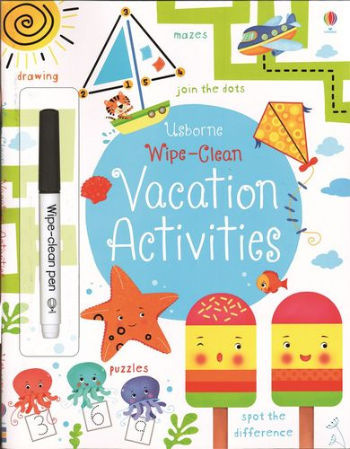 Wipe-Clean Vacation Activities