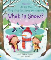 What is Snow? (Lift-the-Flap Very First Questions and Answers)