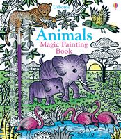 Animals Magic Painting Book