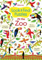 At the Zoo (Look & Find Puzzles)