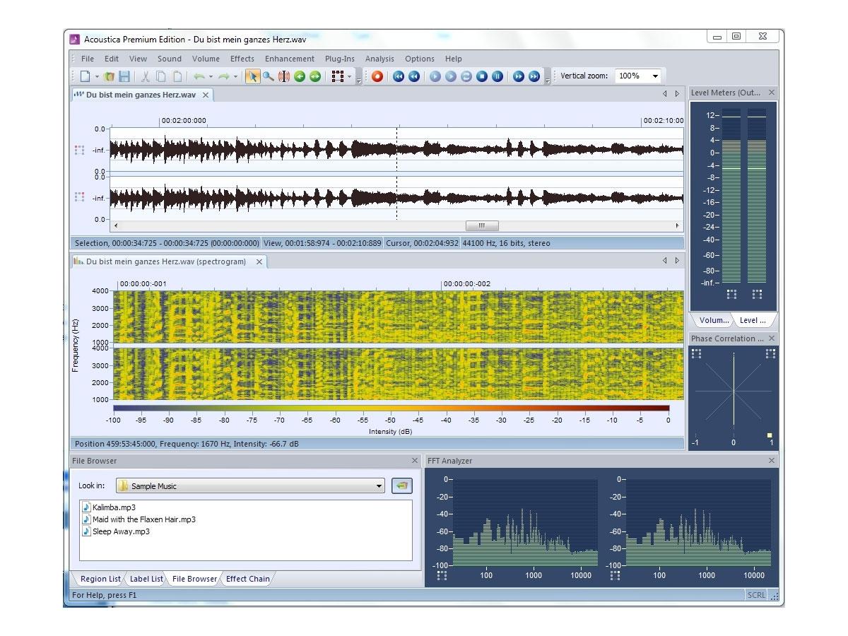 Acon Acoustica Premium - Comprehensive 8-channel Audio Editor, Acon Digital