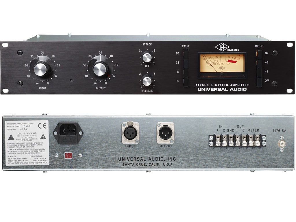 Universal Audio 1176LN - Single Channel Compressor