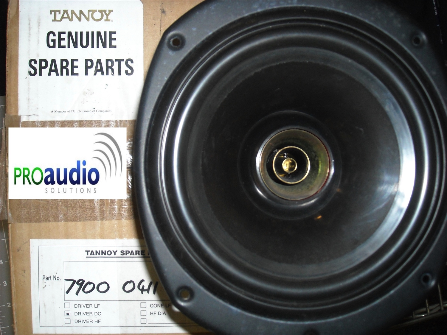 Tannoy 7900 0413 Replacement Driver,System 800, 800A, I8AW and CVMS 8 TDC