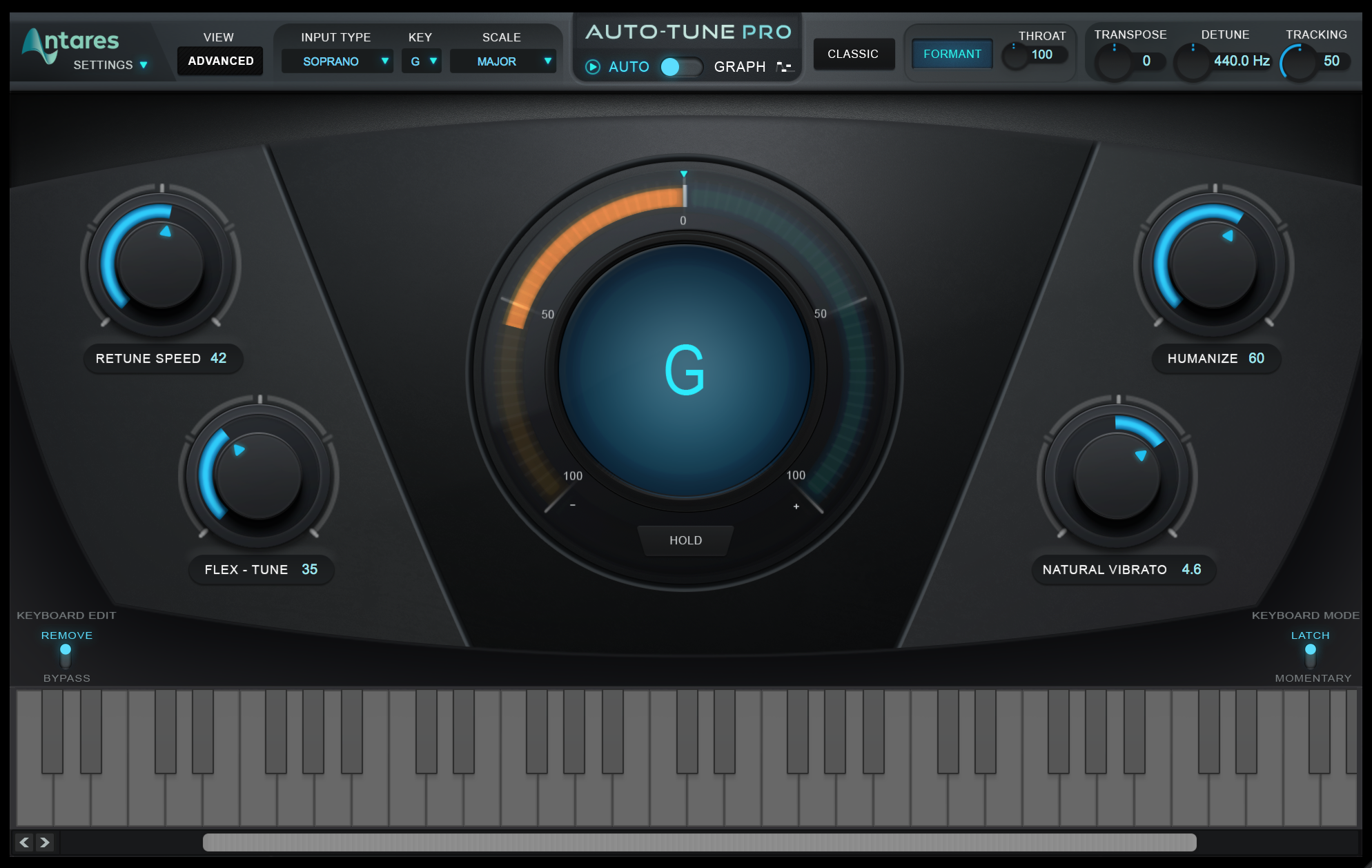 Antares Audio Technologies Auto-Tune Pro - Pitch and Time Vocal-Correction  Software ( License code Download)