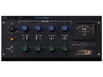 Boz Digital +10dB Equaliser - Channel strip plug-in