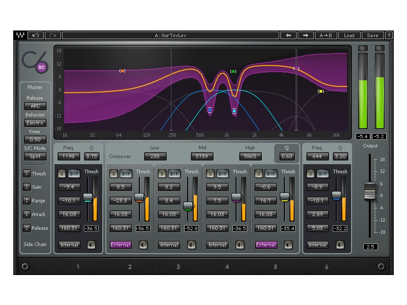 Waves C6 Multiband Compressor TDM (Download)