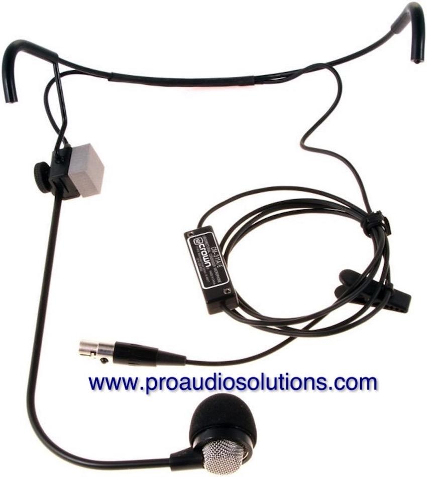 Akg Crown Cm311aesh Head Worn Microphone Pro Audio Solutions