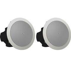"Tannoy CVS 4 Coaxial In-Ceiling Loudspeaker (Pair, 4"", White)"