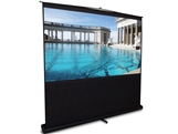 Elite Screens F60NWV2  Floor Stand Telescoping Pull Up Front Projector Screen