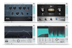 Apogee FX Rack Complete Bundle with EQP-1A, Opto-3A, ModEQ 6, and ModComp Plug-ins  (Download)