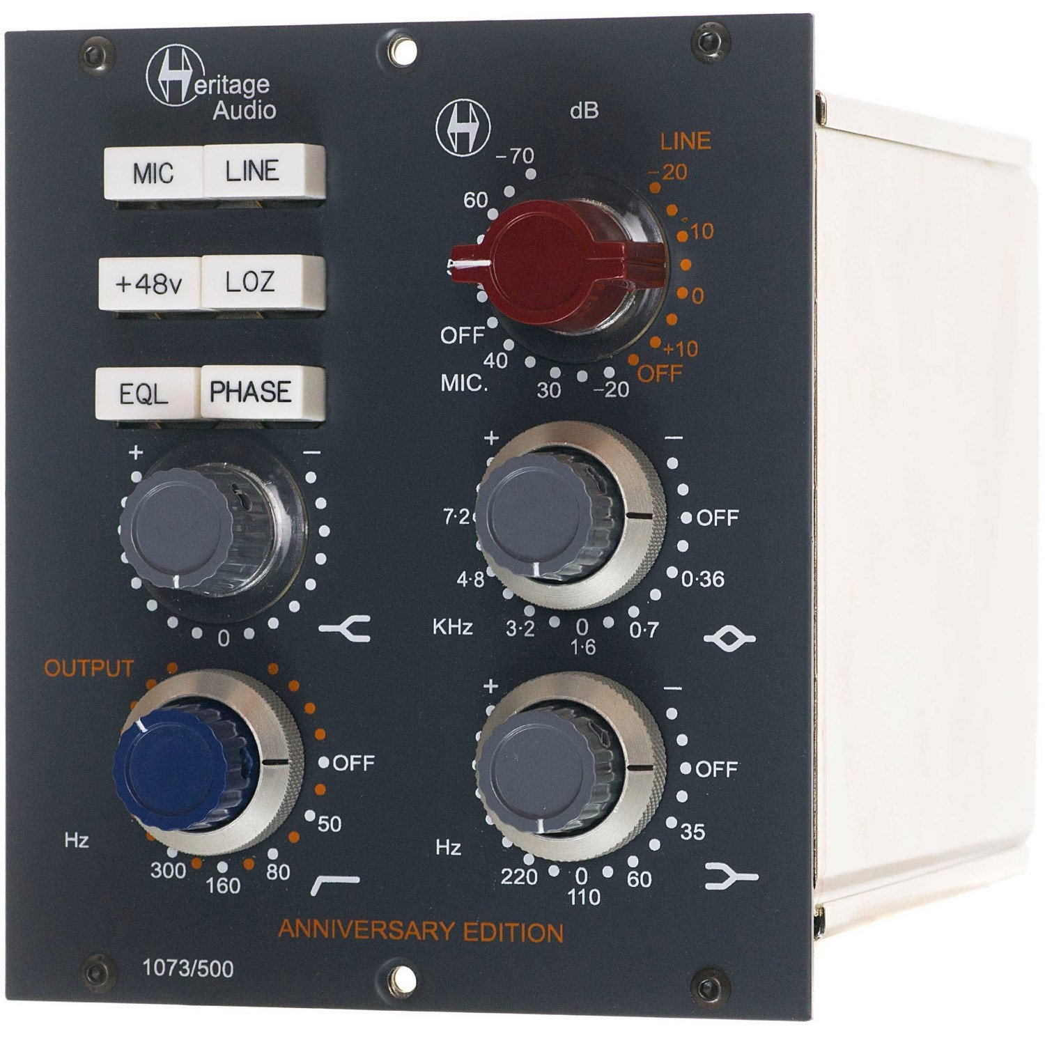 Heritage Audio 500 Series Mic Pre Eq Pro Solutions Amplifier Circuit With 2n3055 P Marian Alternate
