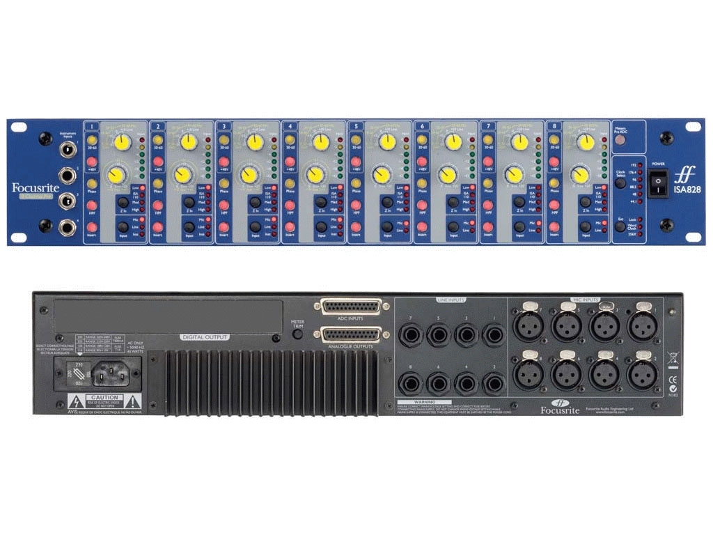 Focusrite ISA-828 -8 channel Microphone Preamp