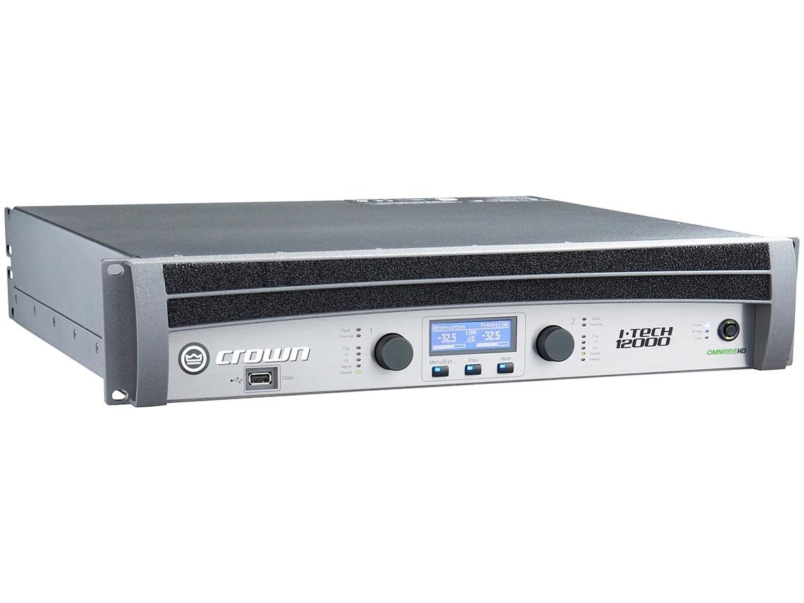 Crown IT12000HD - I-Tech HD Series Power Amplifier