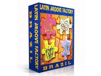 Latin Groove Factory V2 Brazil RexAppleWav, Q Up Arts
