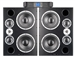 "Dynaudio M3VE Pack - 12"" 3-Way Monitors with PLM 12K44 4-Channel Amplifier"