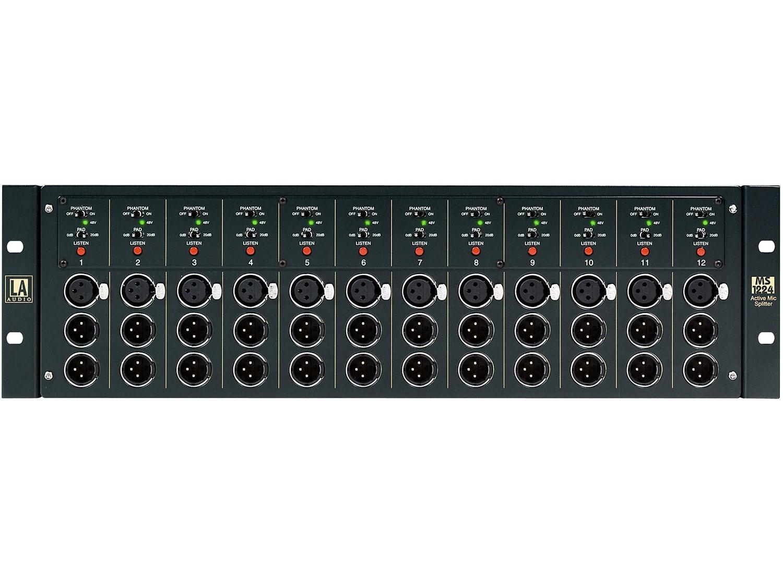 LA Audio MS1224 - 12-channel microphone splitter