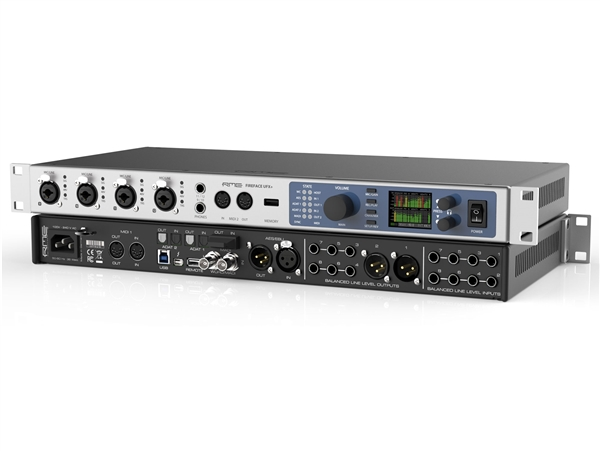 RME Fireface UFX+ USB and Thunderbolt Audio Interface
