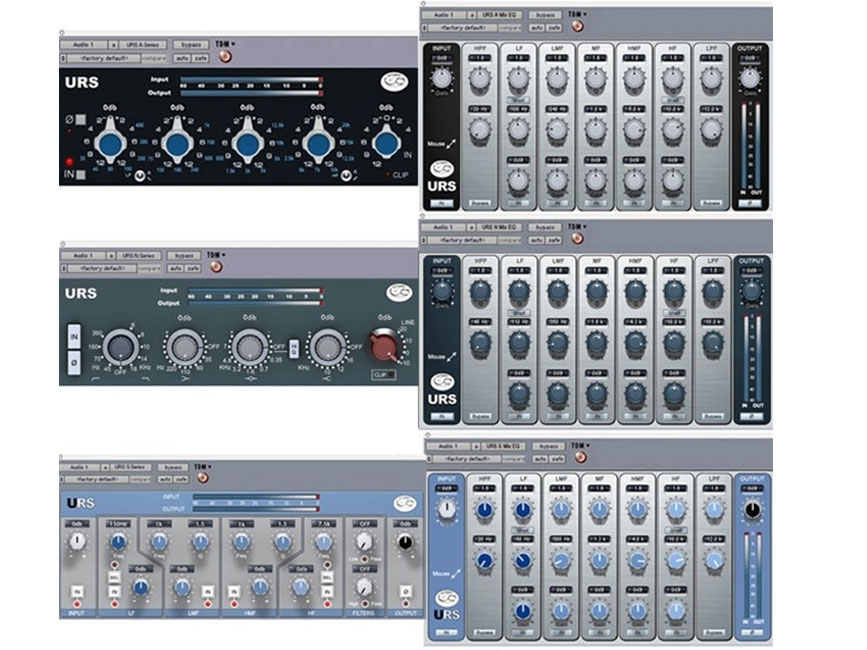 URS Classic Console ANS EQ Bundle w/ S+MIX Native (Download Version)