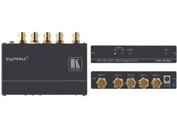 Kramer VM-4HDXL 1:4 3G HD-SDI &-SDI distribution Amplifier