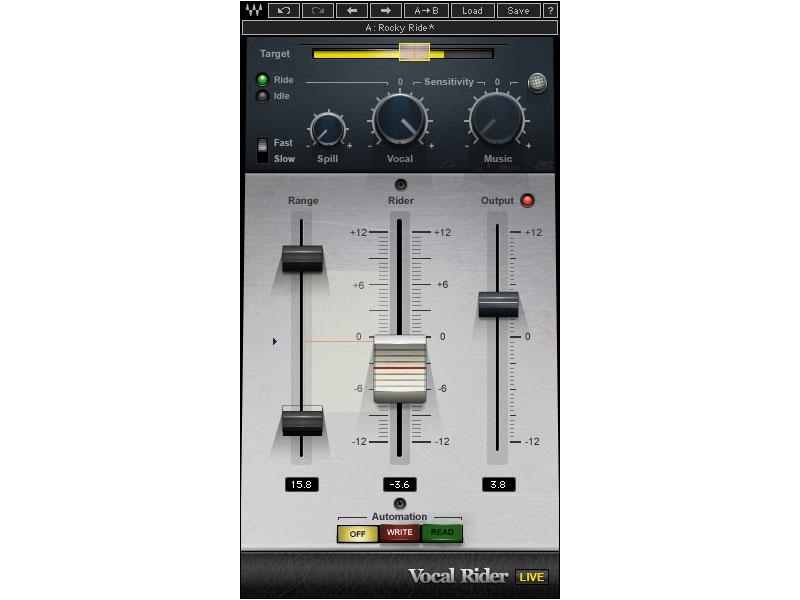 Waves Vocal Rider TDM (Download)