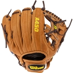 "Wilson Youth A450 Dustin Pedroia 10.75"" Baseball Glove"