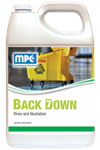 BACKDOWN - RINSE & NEUTRALIZER