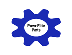 "1503WDS HOSE - Powr-Flite TMHD 1-1/2"" X 25' BLUE ASSEMBLY SOLUTION LINE & CUFFS"