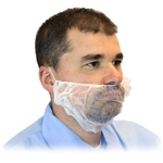 White X-Large Beard Covers